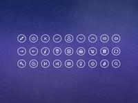 Icons flat