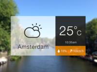 Temperature card
