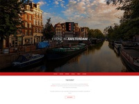 Front In Amsterdam website