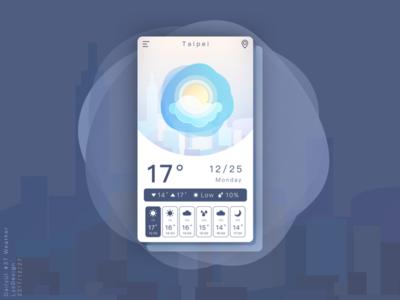 Dailyui  37 Weather