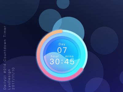 Dailyui 014 Countdown Timer