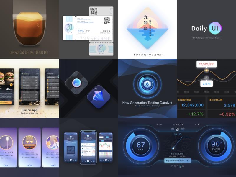 2018 Design 4x3 dribbble app ui 2018design design sketch
