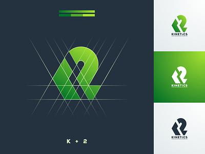 K2 green bold company business artismstudio beverage food grid graphicdesign icon coreldraw illustrator graphic design brand identity creative artwork logo