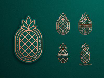 Pineapple ui icon artismstudio company business identity branding illustration vector logo luxury monoline lineart delivery vegetable fruit nanas pineapple