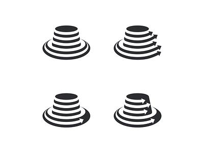 Hat Marketing Agency artismstudio ux ui creative icon graphic design brand identity artwork vector company business branding illustration logo agency marketing hat