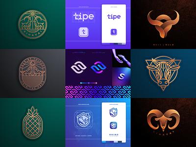 Best 9 shots of 2020 artismstudio illustration graphic design creative identity branding company business luxury charachter wordmark lettermark geometric abstract lineart monoline bestnine2020 best9 logo