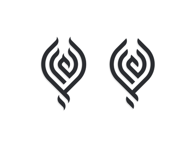 PHOENIX artismstudio graphicdesign ux ui vector illustration company business identity brandidentity branding abstarct logos bird logo monoline lineart mythology bird phoenix