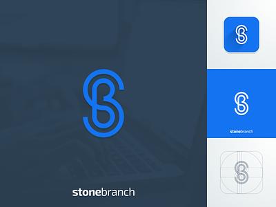 SB monogram artism design icon creative artwork illustrator graphic design brand identity logo line art monogram