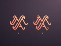 M+A Monogram