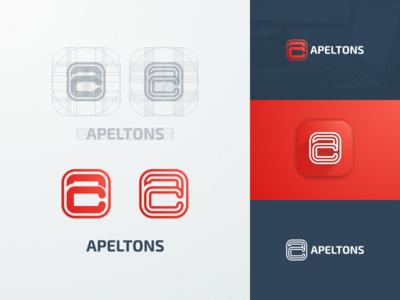 Apeltons & Cubert artismdesign artwork graphicdesign branding handphone gadget logo onlineshop online