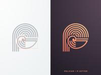 Pelican +  P Letter
