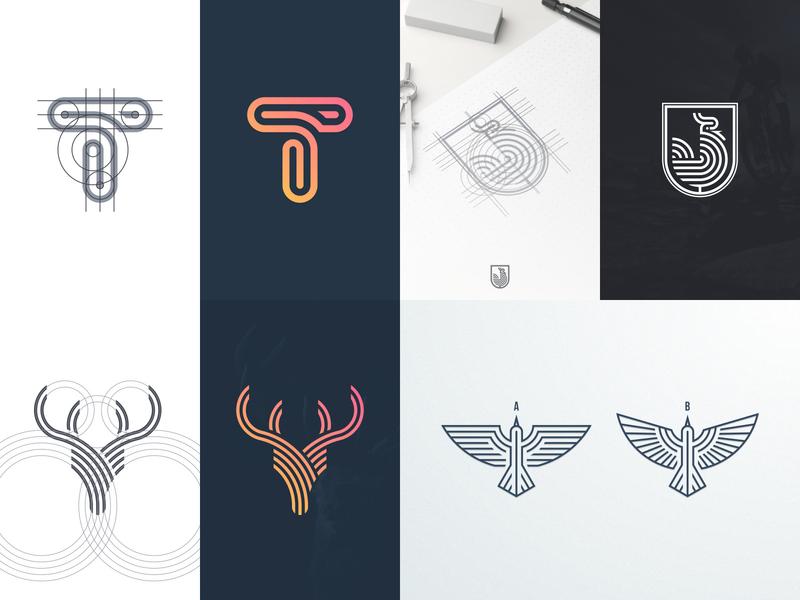 2018 graphicdesign branding top42018 lineart logo artismdesign