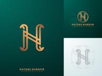 N + H Monogram