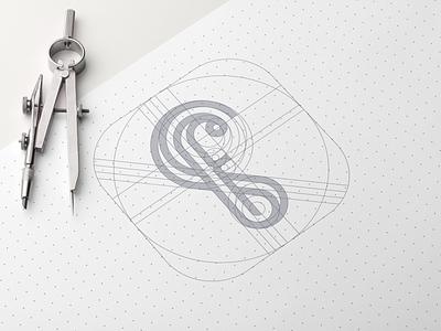 FS monogram vector illustrator brand identity creative artwork artismstudio graphicdesign simple identity branding design logo company business alphabet luxury monoline lineart monogram fs