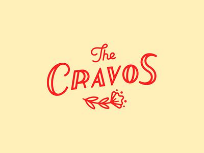 The Cravos carnation flower logodesign logotype logo branding typography