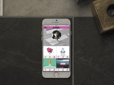 Dribbble Mockup Iphone6 web design user interface web mockup photoshop illustrator illustration minimal clean dribbble ui design