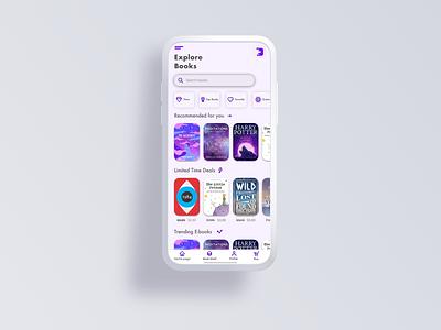 Bookstore 📚App Concept book minimalist sketch mobile app clean design clean reading app bookstore reading books ux minimal concept design ui app creative