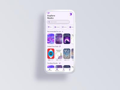 Bookstore 📚App Concept
