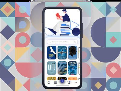 Bookstore 📚App Concept: Light Mode 🌖 minimalism bookshop reading store app store mobile ui bookstore books dribbble clean ux ui illustration design minimal concept app creative