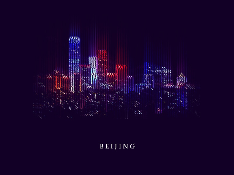 Glitch City_Beijing