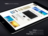 Box responsive website tablet