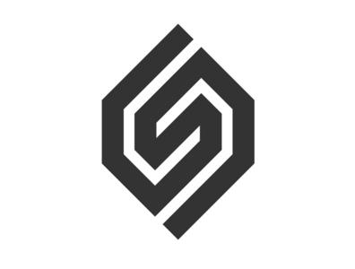 Letter S Monogram Logo Design desing abstract logo lettermark shape square monogram logo abstract letter s monogram symbol typeface panter lux logo design luxury logo identity branding panter vision