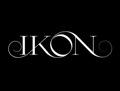 IKON Jewelry Serif typography design