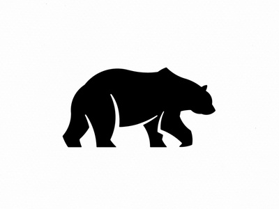 Bear Logo Silhouette Design forest wildlife wilderness wild animal design art vector silhouette bear design fashion symbol panter logo design lux luxury logo identity branding panter vision
