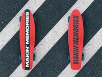 Cruiser Deck Typography Design Art Mockup Typeface Branding