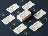 Vesencia Business Cards