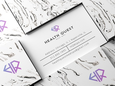 Health Quest Business Cards