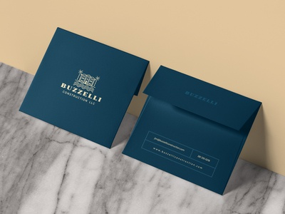 BUZZELLI Envelope design