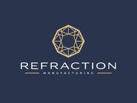 Refraction Manufacturing Logo