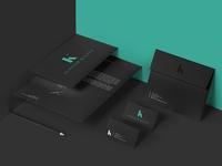 Alistair Kelsey stationery design