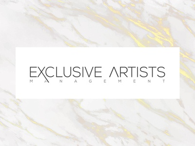 Exclusive Artists Fashion Logo Identity