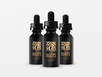 Local Roots Logo CBD Oil packaging