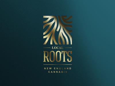 Local Roots Logo CBD Logo Oil Logo Cannabis Logo