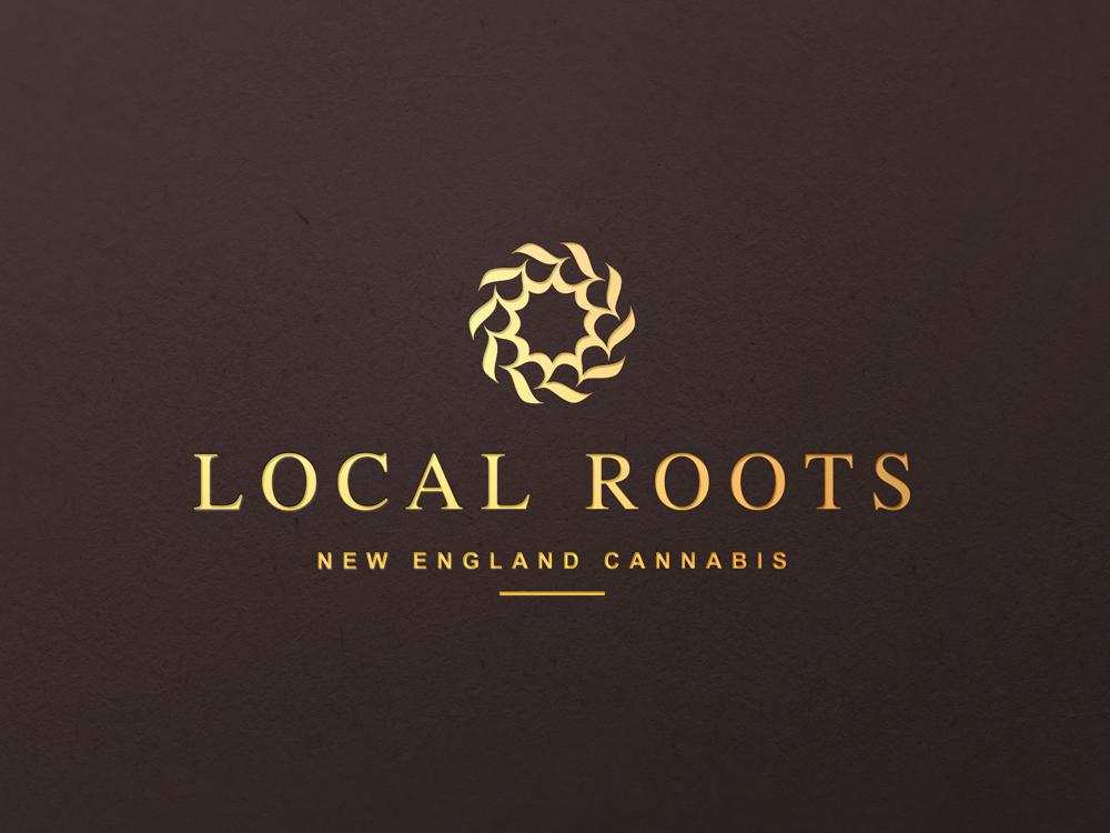 Local Roots Logo CBD Oil design oil logo luxe lux local roots cannabis wellness logo wellness relax hemp oil cbd oil cbd luxury app icon logo design logo identity branding panter vision
