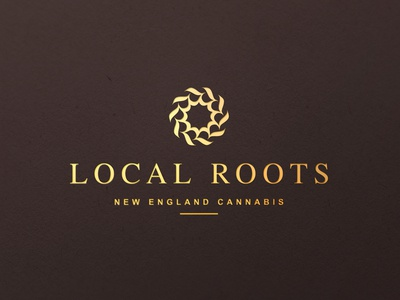 Local Roots Logo CBD Oil design
