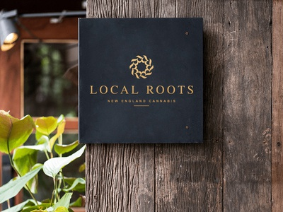 Local Roots Cannabis Logo CBD Oil Logo