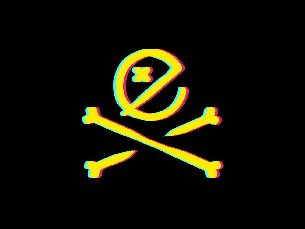 Exploit Symbol production music youth young ux underground panter neon grungy funky logo illustration lux symbol app luxury logo design identity logo branding panter vision
