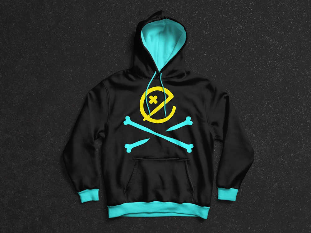 Exploit Hoodie producer youth young ux underground production panter neon music illustration funky logo lux symbol app luxury logo design identity logo branding panter vision