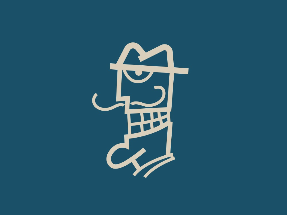 Dali's Dentech Symbol panter caricature logo character cartoon charicature lux modern rebranding smileys smiley face smile logo smile stomatology illustration luxury logo design identity logo branding panter vision