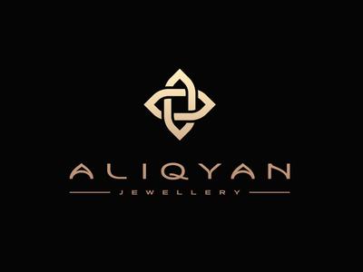 ALIQYAN Jewelry Logo Design