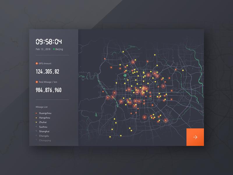 Map Data chart gps data map