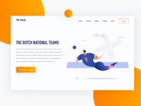 Netherlands National Football Team - Header Exploration