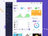 Events Management Dashboard UI/UX Design