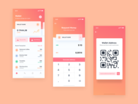 Crypto Wallet App Concept