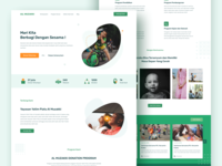 Orphanage Landing Page