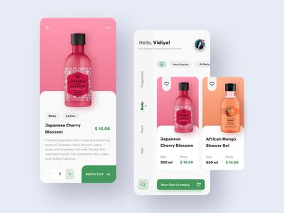 The Body Shop App